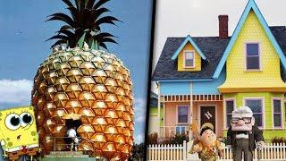 9 casas reales inspiradas en dibujos animados