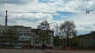 Вертолеты над Симферополем