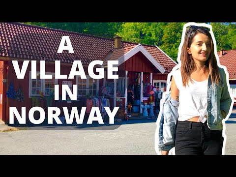 A VILLAGE IN NORWAY |  Beautiful Norway Village | LIFE IN NORWAY