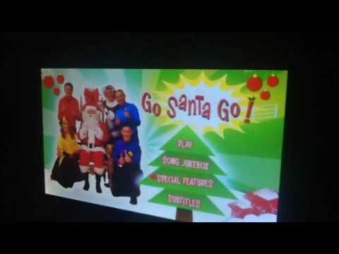 The Wiggles Go Santa Go 2013 DVD Menu Walkthrough
