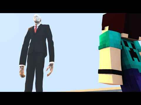 Minecraft: SLENDER GIGANTE - BUILD BATTLE MINI GAME