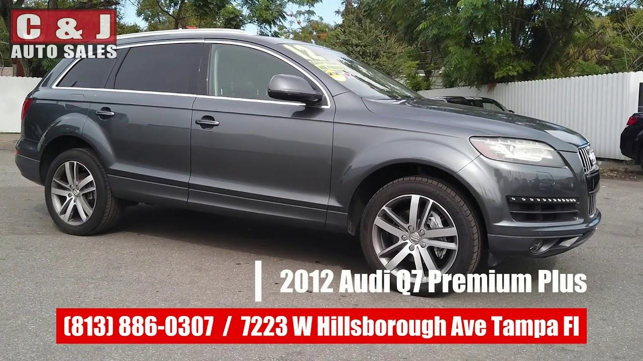 J And J Auto Sales >> 2012 Audi Q7 Premium Plus C J Auto Sales Tampa Fl