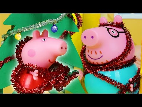Peppa Pig Official Channel | Peppa Pig Stop Motion: Peppa Pig Goes Christmas Shopping!