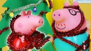 Peppa Pig Channel | Peppa Pig Stop Motion: Peppa Pig Goes Christmas Shopping!