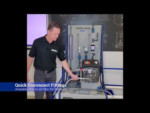 Quick Disconnects for Blue-White Flex-Pro® Peristaltic Metering Pumps