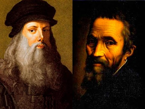 """leonardo da vince vs michelangelo A leading figure of the italian renaissance, leonardo da vinci is  and he  stressed the importance of saper vedere, or """"knowing how to see."""