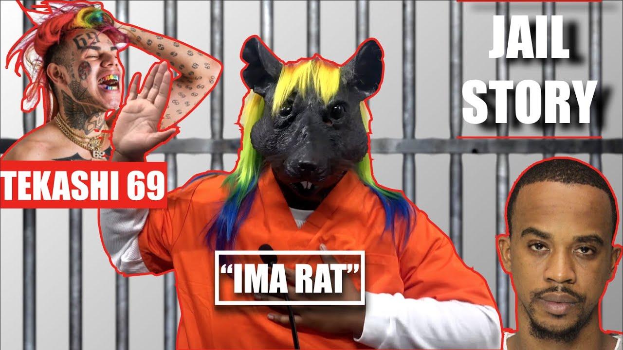 """Rat Face """"Tekashi 6ix9ine"""" - Jail Story (Parody)"""