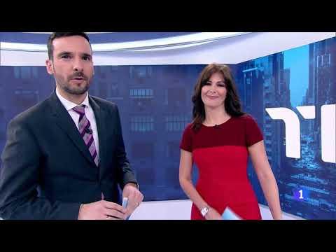 Cierre Telediario 1 FS TVE Sábado 22/02/2020