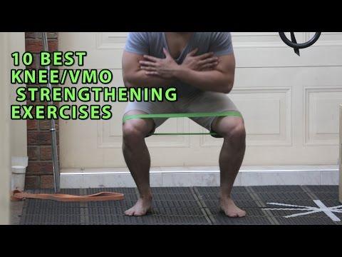 10 BEST KNEE/VMO STRENGTHENING EXERCISES