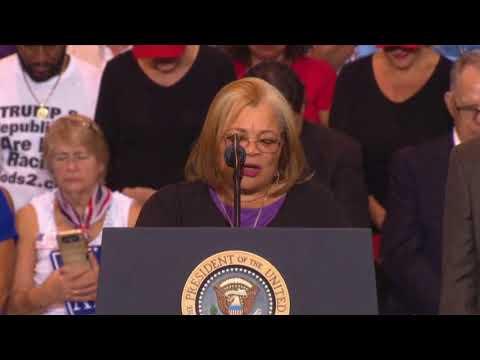 Alveda King niece of Martin Luther King, Jr. SPEECH at President Donald Trump Rally Phoenix, Arizona