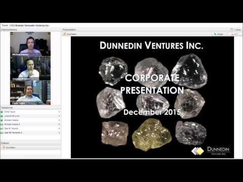 Stock-Telegraph-International.com: CEO-Roaster Webinar with Dunnedin Ventures Inc. (2015-12-04)
