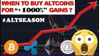 ALTCOIN SEASON 2020 - When to BUY ALTCOINS for +1000% Profits?
