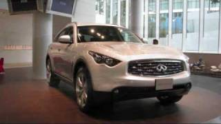 infiniti fx50 s at nissan global hq gallery in yokohama japan 2009