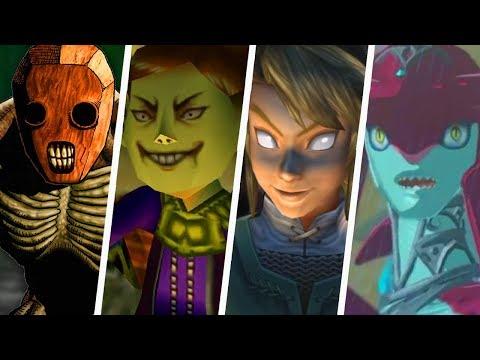 Evolution of Creepy Legend of Zelda Moments (1998 - 2018)
