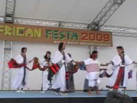 Ethiopian dance / African Festa May 16,2009 Main stage by Mocha Ethiopia dance group