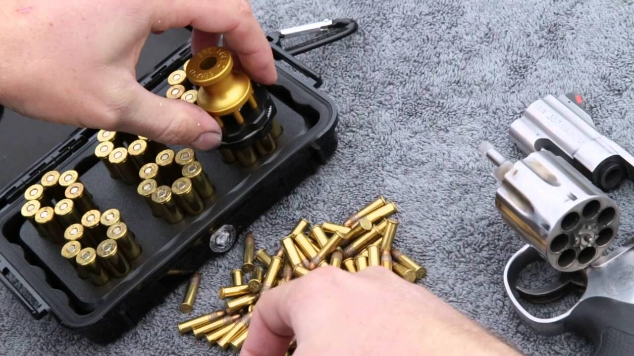 How To Use The Speed Beez Loader With A Smith Wesson 686