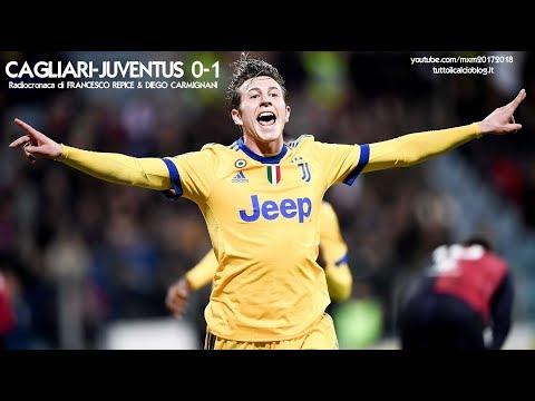 CAGLIARI-JUVENTUS 0-1 - Radiocronaca di Francesco Repice & Diego Carmignani (6/1/2018) Rai Radio 1
