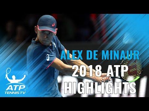 ALEX DE MINAUR: 2018 ATP Highlight Reel