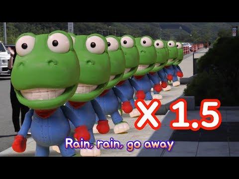Rain Rain Go Away 1.5x Speed | Pororo Nursery Rhymes | Kids Songs | Pororo the Little Penguin