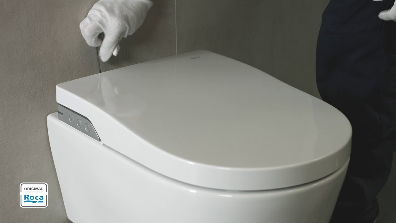 In-Wash® - Installation (wall-hung version) | Roca