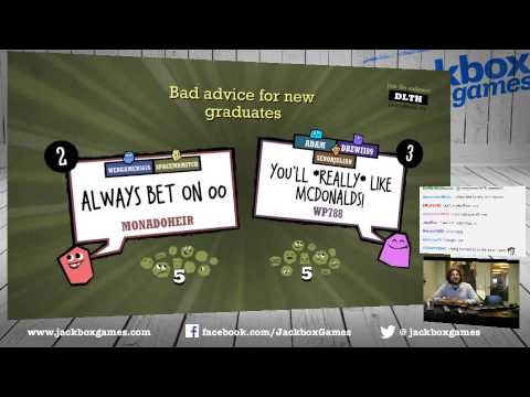 9.25.15 - We play Bomb Corp (from Jackbox Party Pack 2 ...