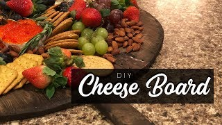 NEW! HOW TO put a cheese board together