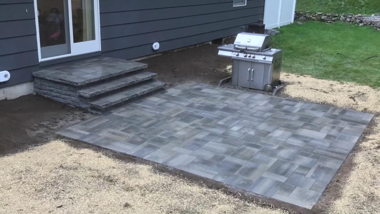 orange ct paver patio new stoop solar brick paver lights