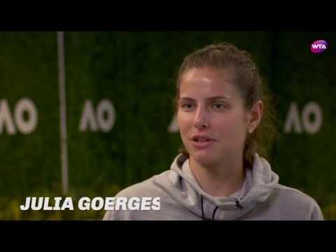2018 Australian Open Pre-Tournament Interview | Julia Goerges