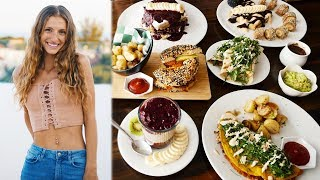 WHAT I EAT/FULL DAY OF EATING VLOG with my VEGAN FAMILY IN MEXICO!