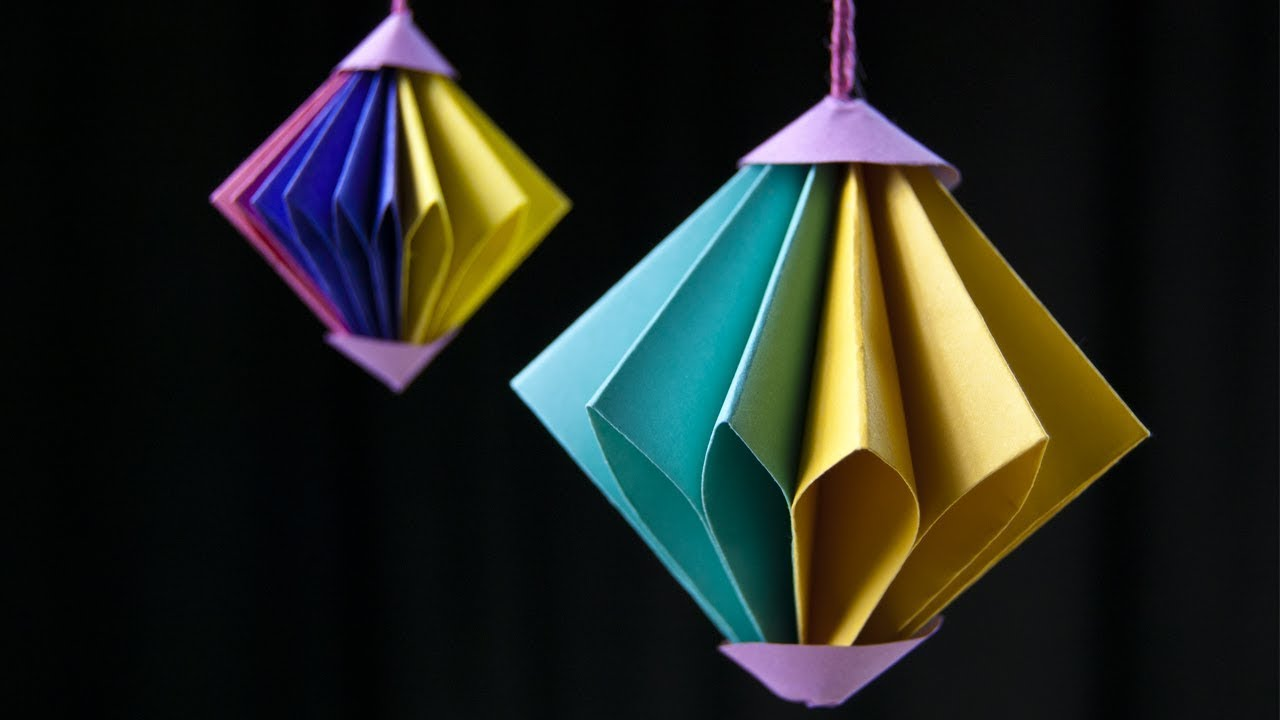 10 Christmas Origami Decorations 19