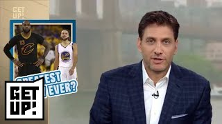 Mike Greenberg: Cavaliers-Warriors NBA Finals is greatest rivalry in sports history | Get Up! | ESPN