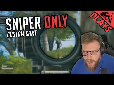 Snipers Only - PUBG Custom Games #199 (StoneMountain64)