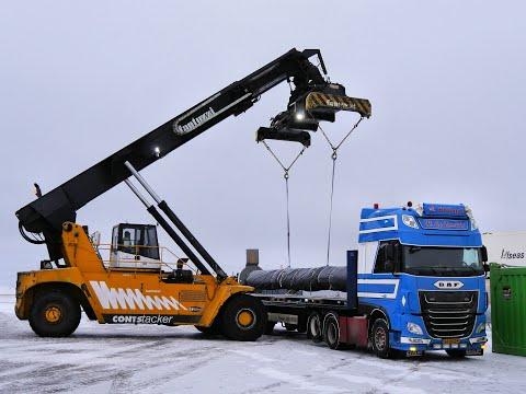 Shipsupplying In Finland With Christmas - WV 23 - William De Zeeuw Trucking