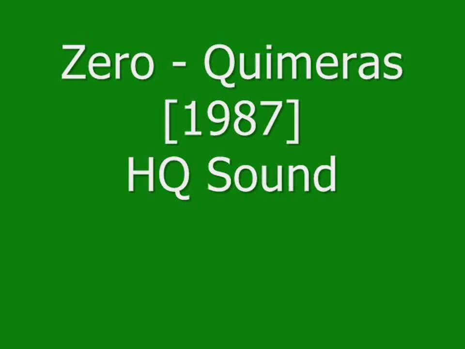 musica quimeras banda zero