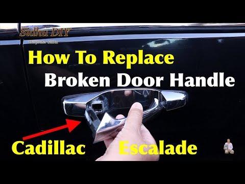 How To Replace Broken Door Handle on Cadillac