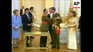 LUXEMBOURG: GRAND DUKE JEAN ABDICATION CEREMONY