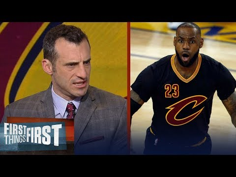 Doug Gottlieb reveals why he's putting Larry Bird and Jordan over LeBron James | FIRST THINGS FIRST