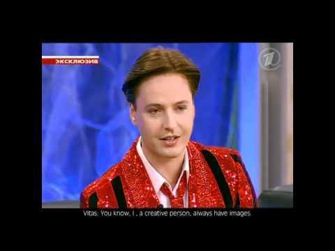 Vitas - The First Interview.. Part 2 w/english subtitles