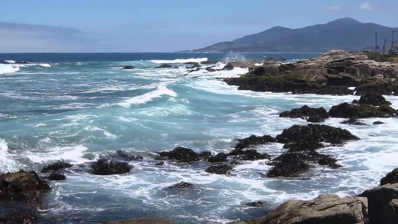 Ruta Del Mar Beach Towns Along The Pacific Coast Chile Hd Video