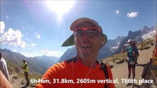 2016 CCC Ultra Marathon Video Race Report #UTMB