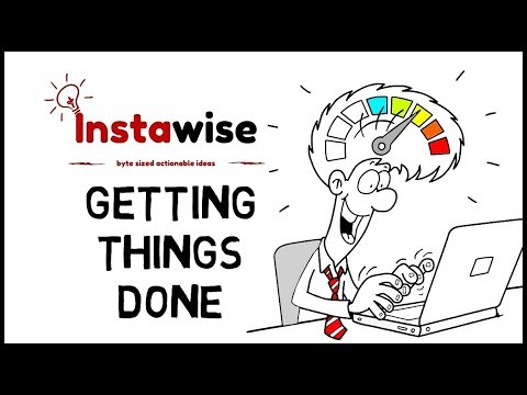 🔴 Getting Things Done The Art Of Stress-Free Productivity By David Allen 💡 Animated Talks