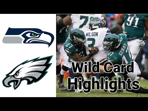 Seahawks vs Eagles Highlights Wild Card Football FULL GAME | NFL Playoffs 2020