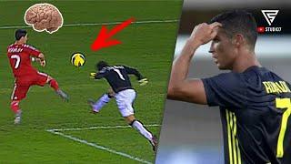 IQ Tinggi & Tidak Diragukan Lagi!!.. Inilah Aksi Cerdas Cristiano Ronaldo Depan Gawang Lawan