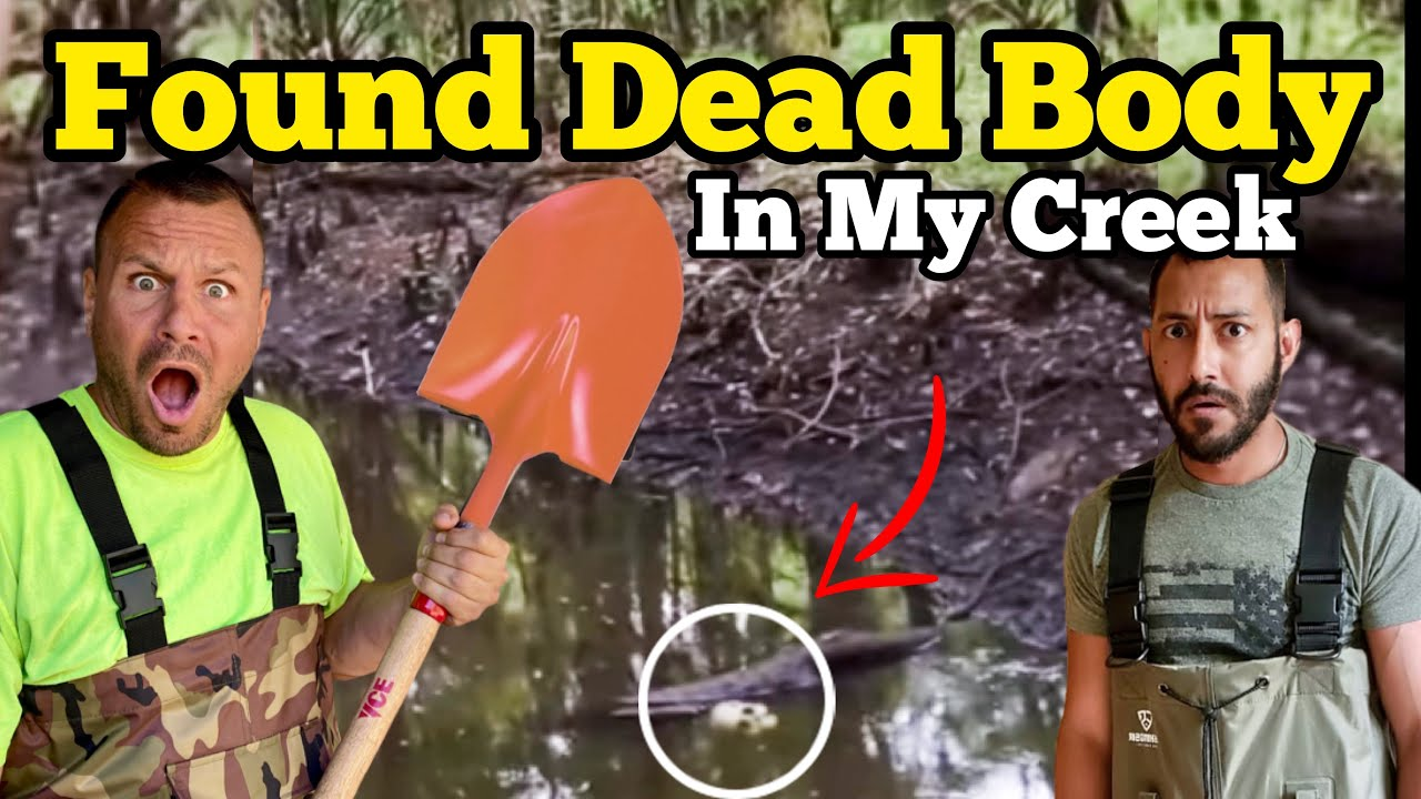 FOUND DEAD BODY In The Creek / I Bought An Abandoned Ranch