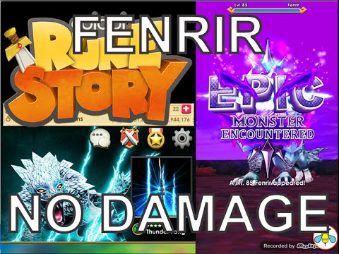 Colopl Rune Story - Epic Boss : Fenrir (No...