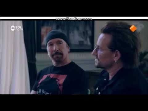 u2 Interview Sao Paulo Brasil part 1 (just before their last J T  concert)