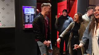 Scotty T has awkward encounter with girlfriend while filming Geordie Shore