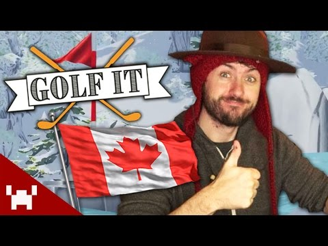 HOW TO BECOME CANADIAN! (Golf It! w/ Ze, Chilled, SeaNanners, & SMii7Y)