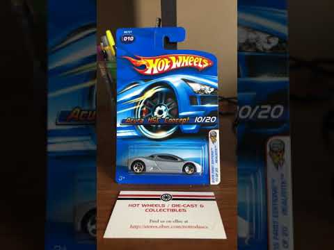 Quickie review: Hot Wheels Acura HSC Concept