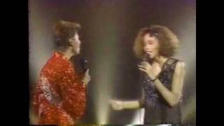 SOLID GOLD | Dionne Warwick & Whitney Houston | You're A Friend of Mine | 1/11/86